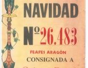 Tenemos lotería de Navidad 2015 de FEAFES Aragón