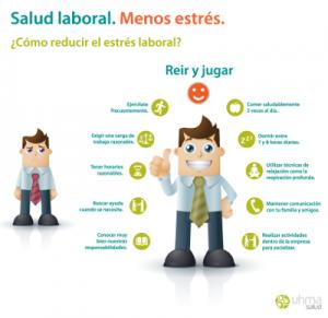 salud laboral, menos estres